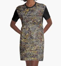 No. 5 by Jackson Pollock Graphic T-Shirt Dress