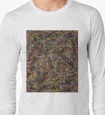 No. 5 by Jackson Pollock Long Sleeve T-Shirt