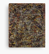 No. 5 by Jackson Pollock Canvas Print