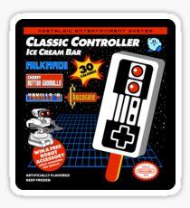 Classic Controller Ice Cream Bar Sticker
