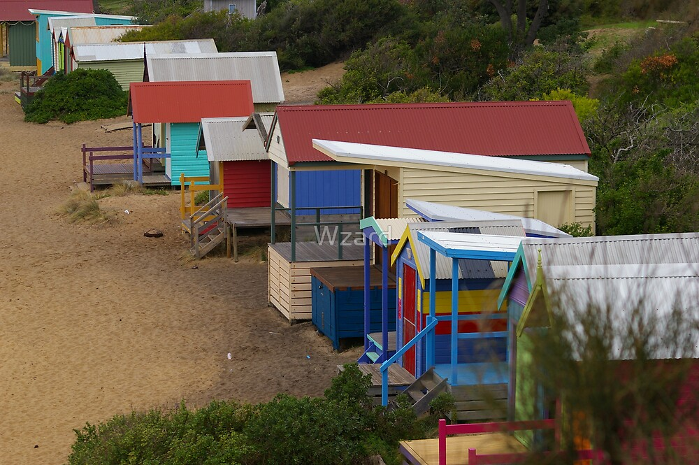 Beach Boxes by Wzard