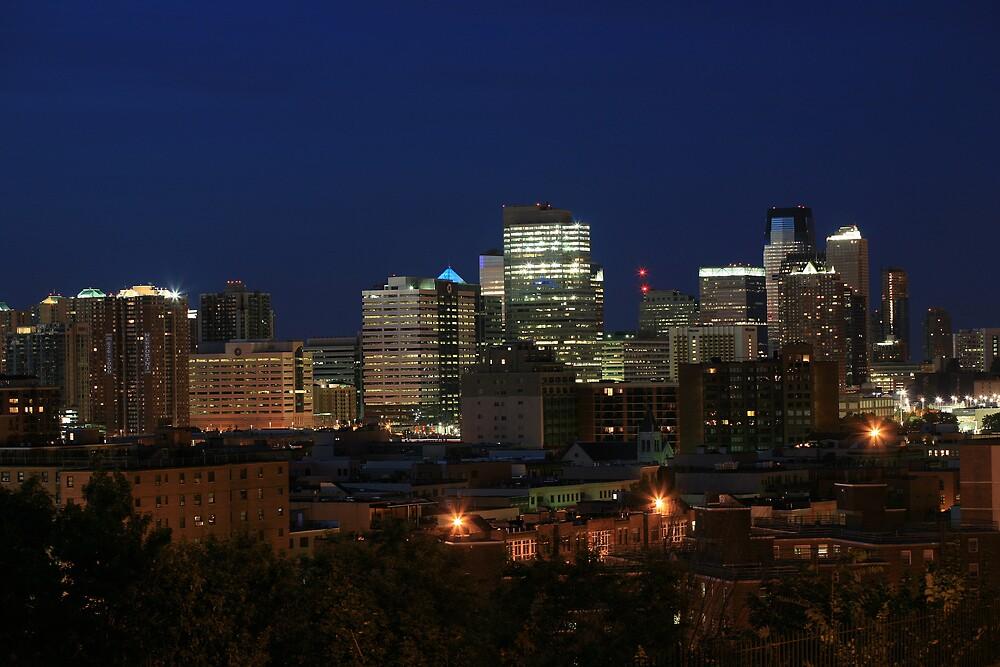 City lights by pmarella