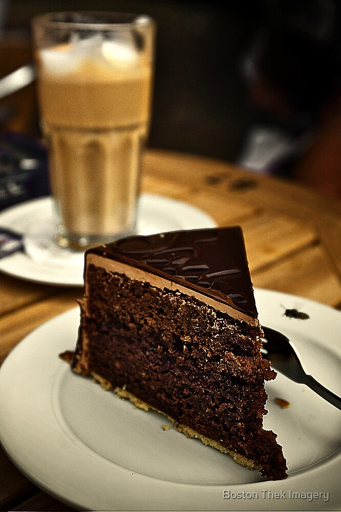 Coffee and Cake time by Boston Thek Imagery