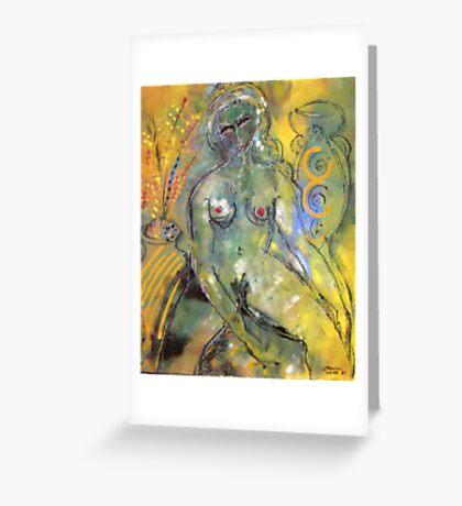 Nude 2 Greeting Card