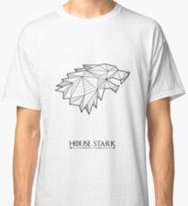 House Stark Geometric Crest Classic T-Shirt