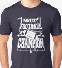 Funny Shirt – Funny Fantasy Football Saying Fantasy Football Champion T-Shirt