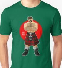 ADAM LIKES KILTS - SHIRTLESS Unisex T-Shirt