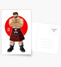 ADAM LIKES KILTS - SHIRTLESS Postcards