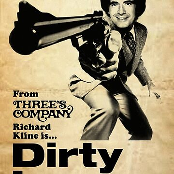 DIRTY LARRY Threes Company by shnooks