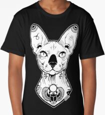 sphynx tattooed Long T-Shirt