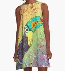 Toucan Can Do it! A-Line Dress
