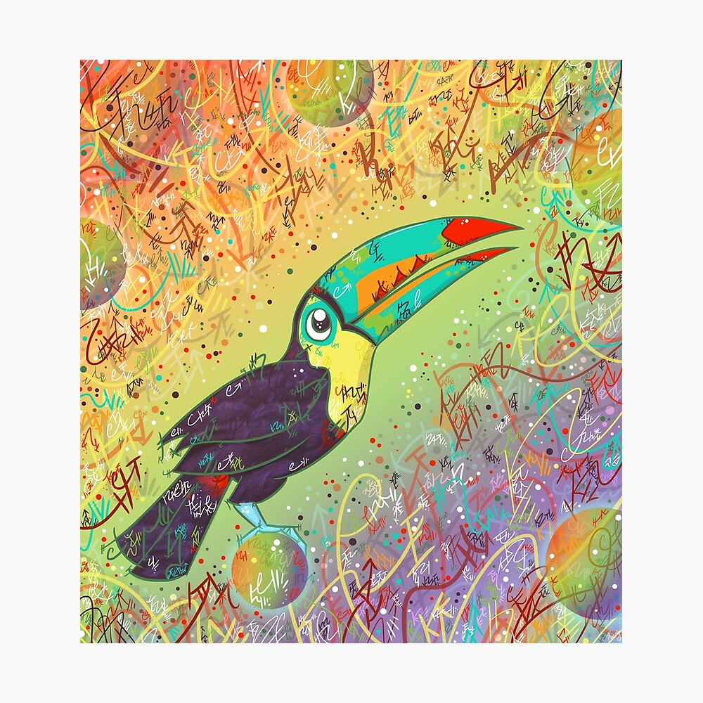 Toucan Can Do it! Photographic Print