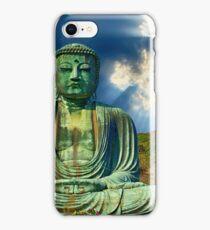 Buda, statue, religion, culture, meditation, Buddhist, Buddhism, religious, iPhone Case/Skin