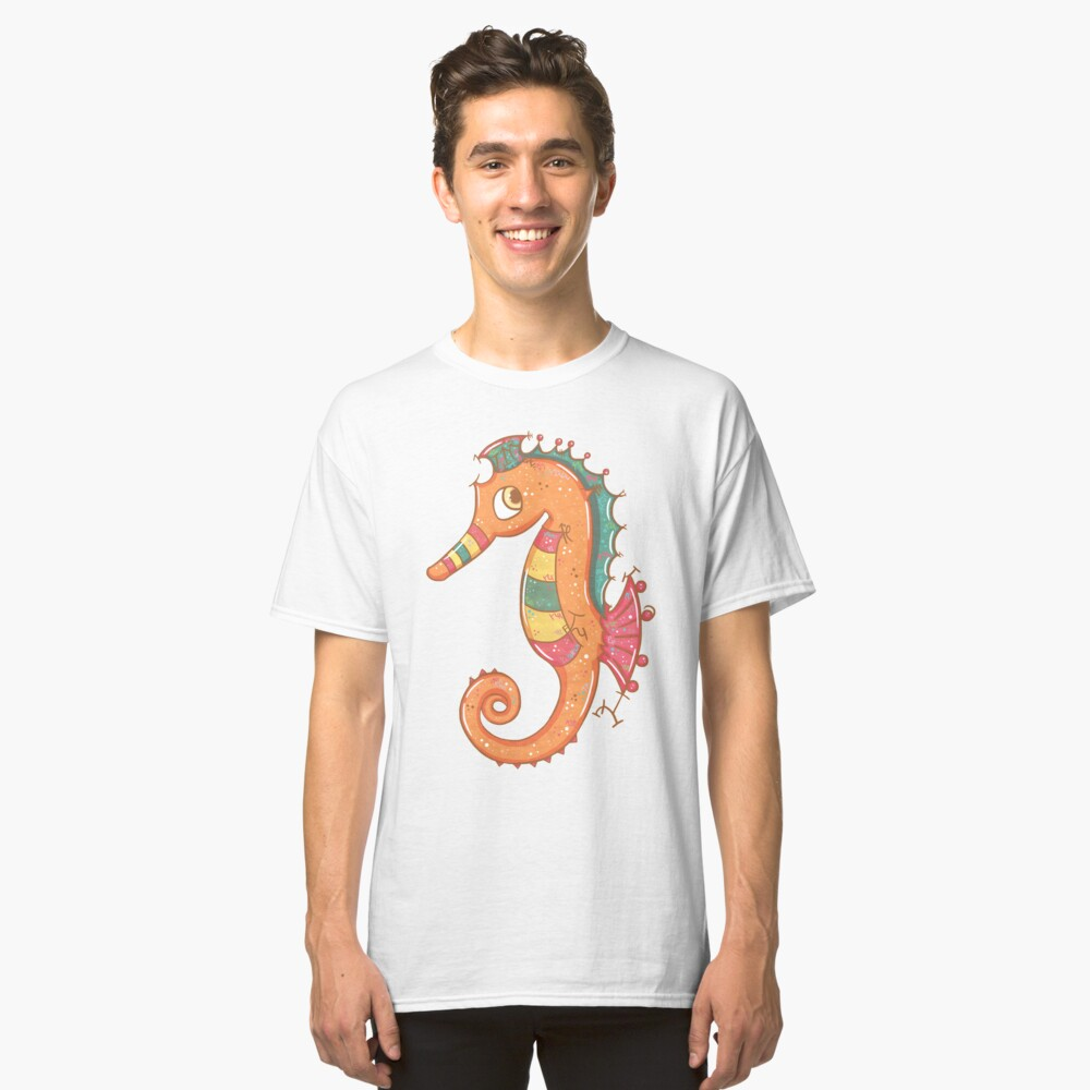 Sparkly Little Seahorse Classic T-Shirt