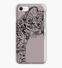cat graphic iPhone Case/Skin