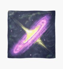 The origin of the galaxy Scarf