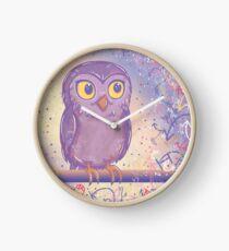 Enchanting Little Owl Clock