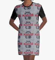 McBusted logo take of The Mighty Ducks Graphic T-Shirt Dress