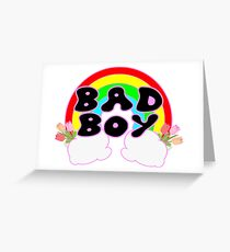 Bad Boy Greeting Card