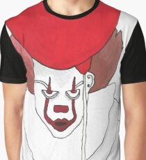 Pennywise IT - We All Float Down Here Graphic T-Shirt
