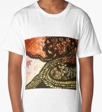 Yellow Brick Road-Inspired Walk/ Fiery Field Long T-Shirt