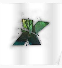Xeno X Logo Poster