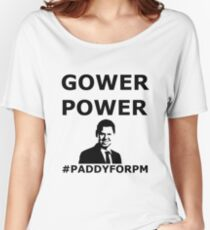GOWER POWER Feel The Paddy Love! Women's Relaxed Fit T-Shirt