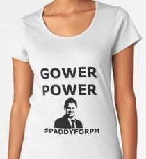 GOWER POWER Feel The Paddy Love! Women's Premium T-Shirt