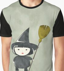 Halloween Witch  Graphic T-Shirt