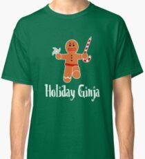 Holiday Ginja - Ninja gingerbread man Classic T-Shirt