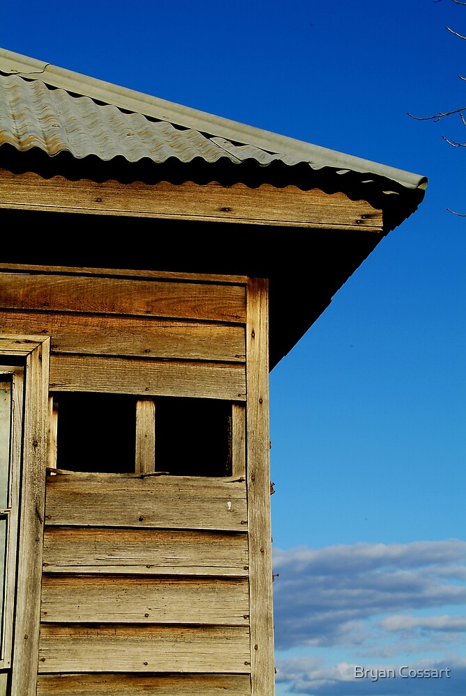 Old House near Cooma by Bryan Cossart