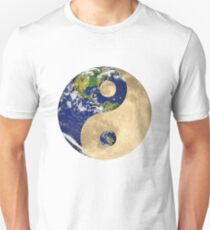 Earth Moon Ying Yang T-Shirt