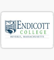 Endicott College  Sticker