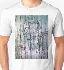 Weathered Wood Telephone Pole  T-Shirt