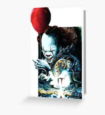 IT pennywise - It movie Greeting Card