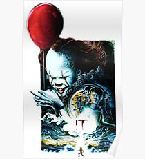 IT pennywise - It movie Poster