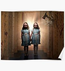 The Shining- Grady Twins Poster