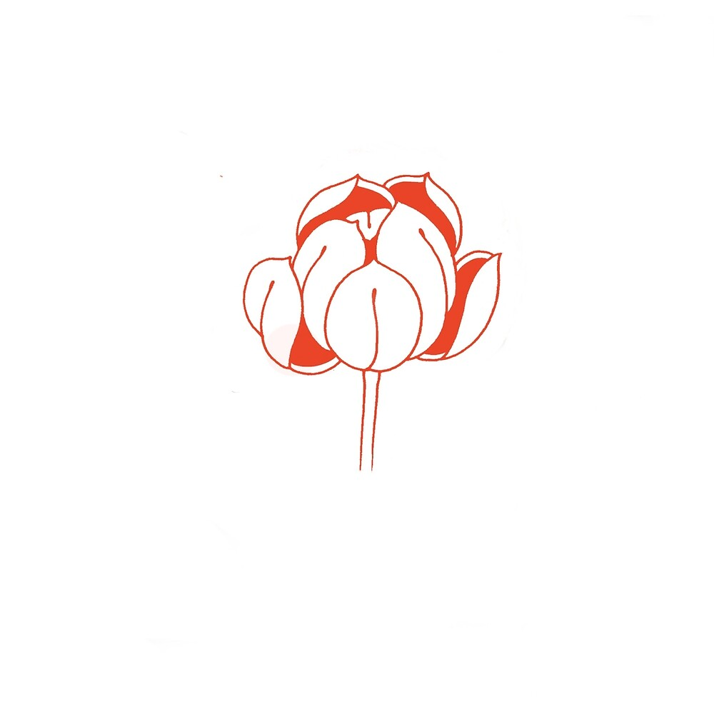Simple lotus flower by joshuadaniel redbubble simple lotus flower izmirmasajfo
