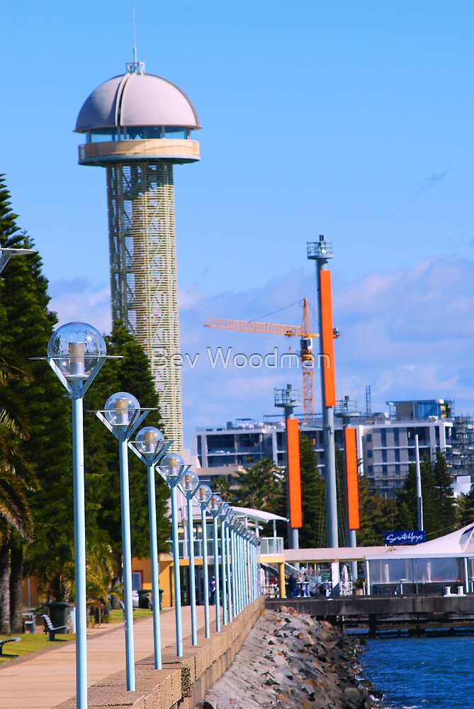 Queen's Wharf Newcastle NSW by Bev Woodman
