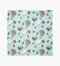 We Bare Bears Cartoon - Tiled Graphics Pattern Scarf