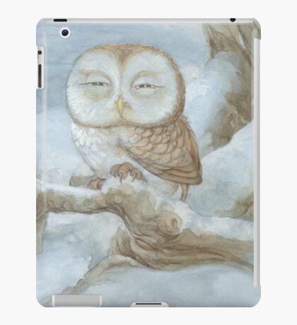 Sleepy Owl iPad Case/Skin