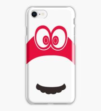 Super Mario Odyssey Cappy possession iPhone Case/Skin