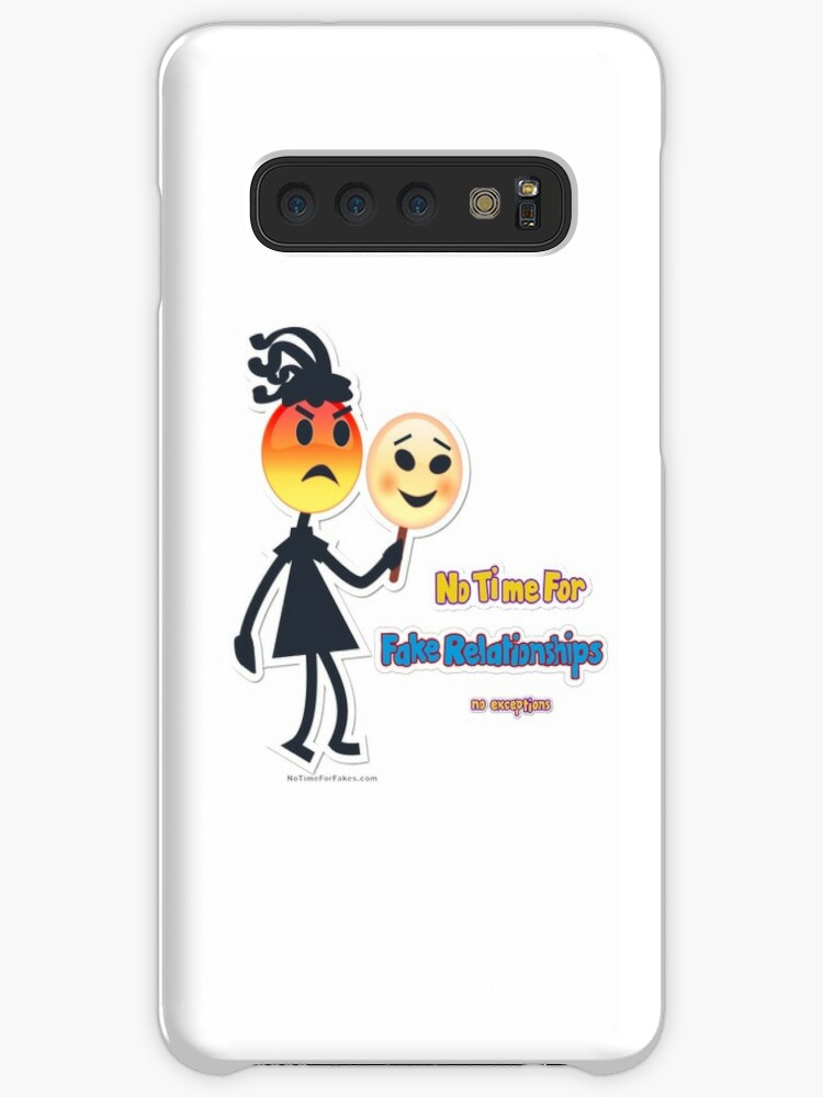 'Fake Relationships Girl Emoji' Case/Skin for Samsung Galaxy by  NoTimeForFakes