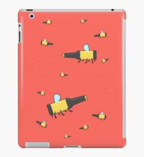 Bumble beer (red) iPad Case/Skin