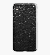 Black Crystal Bling Strass G283 iPhone Case
