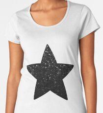 Black Crystal Bling Strass G283 Women's Premium T-Shirt