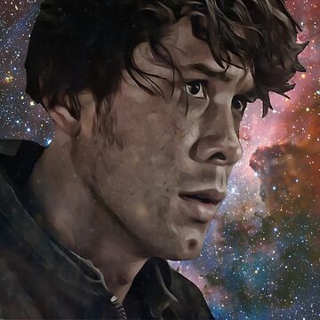 Bellamy Blake Space/Galaxy (For Charity) by MorleyCharity
