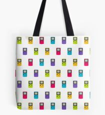 Gameboy Color pattern (white) Tote Bag