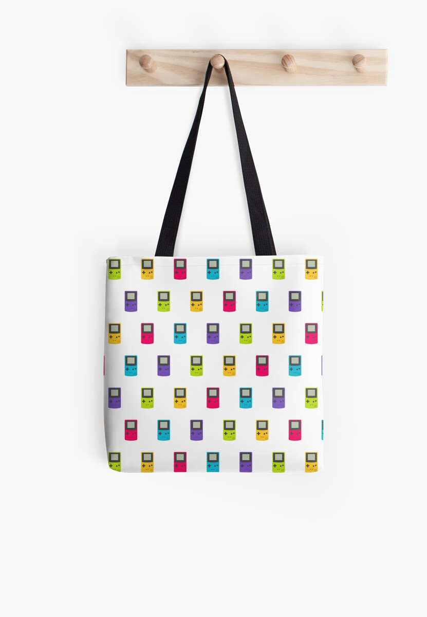 Gameboy Color pattern (white) by animinimal