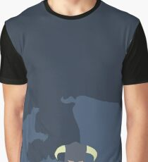 Dovah & Dovahkiin - Skyrim Block Colour Minimalist Graphic T-Shirt